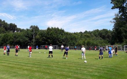 Trainingsauftakt der Seniorenmannschaften