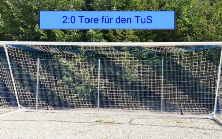 2:0 Tore für den TuS
