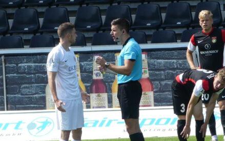 Debüt in der Regionalliga